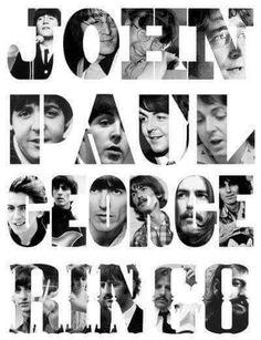 John Paul George Ringo The Beatles