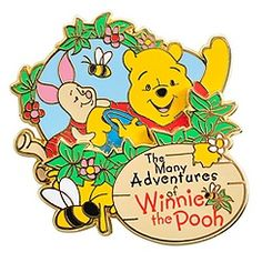 The Many Adventures of Winnie the Pooh Pin