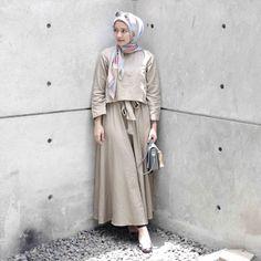 Hijab Casual, Hijab Chic, Hijab Outfit, Islamic Fashion, Muslim Fashion, Asian Fashion, Fashion Muslimah, Muslim Girls, Muslim Women