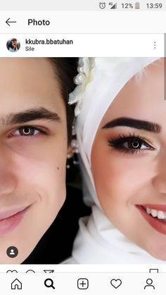 Muslimah Wedding Dress, Wedding Hijab, Wedding Poses, Hijab Bride, Wedding Bride, Wedding Ideas, Muslim Couple Photography, Outdoor Wedding Photography, Bridal Photography