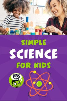 With these simple activities, games, and experiments, it's easy to do science with your kids! PBS KIDS for Parents has over 60 easy activities around animals, nature, the weather, engineering, the senses, and much more. To keep things even easier, all of our activities here are organized by the number of materials you need! Science Games For Kids, Easy Science, Montessori Science, Pbs Kids, Parent Resources, Lessons For Kids, Hands On Activities, Parenting Hacks, Parents