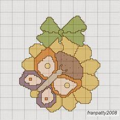 Hobby lavori femminili - ricamo - uncinetto - maglia Punto Croce Uccello 88ddba317a74