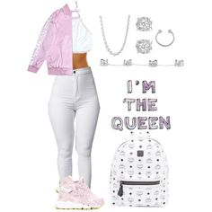 I'm The Queen by life957 on Polyvore featuring polyvore, NIKE, MCM, Effy Jewelry, Maison Margiela, Miss Selfridge, John Hardy, fashion, style and clothing