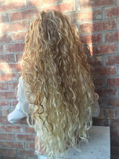 different types of perm hairstyles 17 - Permed Hairstyles - Curly Hair Styles, Natural Hair Styles, Blonde Waves, Blonde Lace Front Wigs, Long Hair Tips, Blonde Curly Hair, Glossy Hair, Hair Flow, Light Blonde
