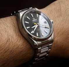 Omega Seamaster Aqua Terra 15,000 Gauss Watch Review   wrist time watch reviews