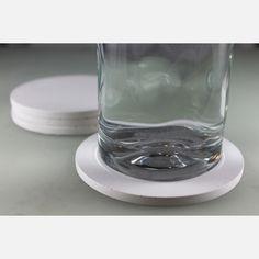 Coasters Round Concrete White design inspiration on Fab.