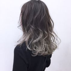 Kpop Hair Color, Ombre Hair Color, Hair Inspo, Hair Inspiration, Grunge Hair, How To Make Hair, Hair Looks, Dyed Hair, Hair And Nails