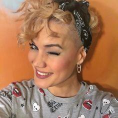 Undercut Curly Pixie Cut