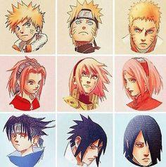 Naruto,sasuke e sakura