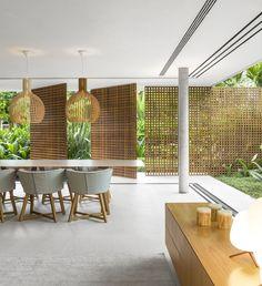 25 Ideas House Architecture Tropical Design For 2020 Interior Tropical, Style Tropical, Modern Tropical House, Tropical House Design, Tropical Houses, Tropical Doors, Tropical Architecture, Wood Architecture, Contemporary Architecture