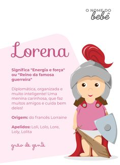 Sua Lorena está chegando? 😍 Conta pra gente se você escolheu o nome pelo significado! Aproveite para marcar aqui a mamãe da Lorena que você conhece! 🙌😉 #momentogrãodegente #grãodegente #significadosdosnomes #lorena #gravidez #maternidade Cute Baby Names, Baby Girl Names, Cute Babies, Spanish Names, Baby Boy Photos, Learn To Love, Toddler Boys, Baby Toys, Barbarella