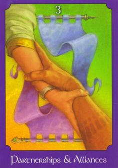 Partnerships and Alliances - Psychic Tarot When you see the Partnerships and Alliances card, it means hope will spring eternal concerning all of the matters in which you are currently invested.