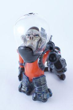 Coyle borosilicate glass pipe heady