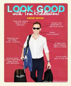 How To Look With Tom Hiddleston