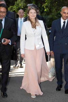 Hereditary Grand Duchess Stephanie Mission économique au Royaume du Maroc - Cour Grand-Ducale de Luxembourg - Avril 2015