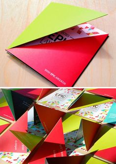 Golada de brochuras e folders criativos | DESIGN on the ROCKS:
