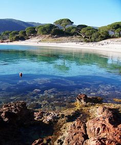 """The """"beaches"""" in Corsica: how to choose some of the best and highlighting the best features and peculiarities on the main island of France. Wonderful Places, Great Places, Places To See, Beautiful Places, Places Around The World, Travel Around The World, Around The Worlds, Corsica, Dream Vacations"""