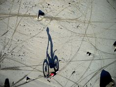 The 61 images in this post are all arial shots taken by strapping a camera to a kite to elevate it. It's not something for the faint of heart as you are putting your camera at risk but the results can be pretty amazing in the right setting. Space Photography, Shadow Photography, Digital Photography School, Aerial Photography, Biker Photos, Go Fly A Kite, Forced Perspective, Shadow Art, Birds Eye View