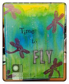 FLY  By Tracy Weinzapfel  Mixed Media Canvas 11 X 14 by twstudios, $45.00