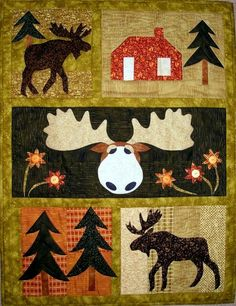 Looking for your next project? You're going to love Moose Crossing Quilt Pattern by designer PGPeddler.