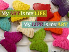 Live to create. www.happymangobeads.com #jewelry #fashion