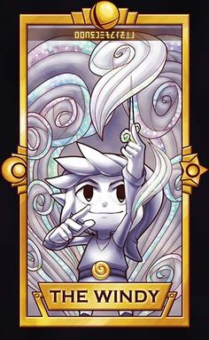 Toon Link -The Windy by Quas-quas They're like Clow Cards! This makes me so happy! The Legend Of Zelda, Super Smash Bros, Twilight Princess, Breath Of The Wild, Creepypasta Anime, Video Game Art, Video Games, Nintendo Characters, Link Zelda
