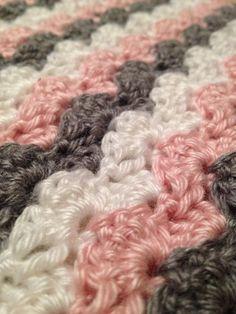 Baby Blanket, Handmade Blanket, Crochet Blanket