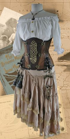 Image detail for -Harlots and Angels Steampunk Corsetry - The Steampunk Empire