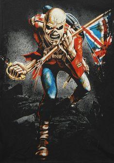 🤘 💀 🤘 Rey 22 California 🇺🇸 ☢ Thrash Metal - Death Metal - Heavy Metal ☢ Cars - Trucks - Motorcycles ⛧Satan Laughs As You Eternally Rot⛧ Heavy Metal Rock, Heavy Metal Music, Heavy Metal Bands, Iron Maiden Mascot, Iron Maiden The Trooper, Metallica, Iron Maiden Posters, Iron Maiden Band, Eddie Iron Maiden