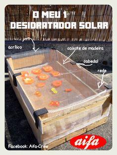 Dicas Aifa, muito fácil de fazer tutorial em breve no blog #desidratador #solar