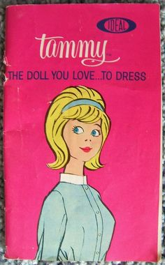 Ideal Tammy The Doll You LoveTo Dress Catalog Booklet Vintage Japan 1960s