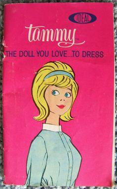 Ideal Tammy The Doll You LoveTo Dress Catalog Booklet Vintage Japan 1960s