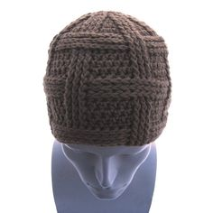 d1082002d8c57 Open Weave Beanie - great pattern shop. THE coolest hat I ve ever made