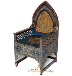 Hand Painted Sultan Vintage Chair