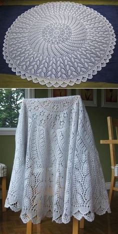 Free Knitting Pattern for EZ 100th Anniversary PI Shawl: Camping - This shawl by Mwaa Knits is a tribute to Elizabeth Zimmermann who developed an easy, versatile, and innovative idea for creating circular shawls using the geometry of Pi–the relationship between a circle's circumference and its radius– with just 6 decrease rounds.