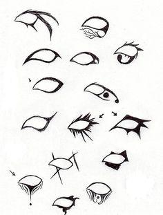 Hair Eyeliner designs, Eyeliner goth, Eyeliner for hooded ey.
