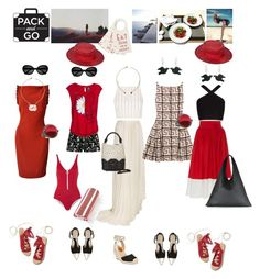 """""""Week in Greece"""" by taci42 ❤ liked on Polyvore featuring Linum Home Textiles, Versace, Vionnet, Giambattista Valli, Duskii, Topshop, Vivienne Westwood Anglomania, MDS Stripes, Desigual and BCBGMAXAZRIA"""