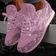 Women Muffin Rhinestone New Crystal Platform Sneakers Instylemore Shoes Closed Toe Blue Low Heel Casual Shoes – instylemore Casual Heels, Casual Sneakers, Sneakers Fashion, Fashion Shoes, White Sneakers, White Shoes, Women's Fashion, Blue Fashion, Fashion Online