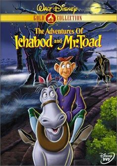 """Two spooky animated adaptions of """"The Legend of Sleepy Hollow"""" and """"The Wind in the Willows."""" It is sure to be a Disney classic that the whole family will enjoy! Directed by James Algar, Clyde Geronimi, Jack Kinney.  With Bing Crosby, Basil Rathbone, Eric Blore, John McLeish."""