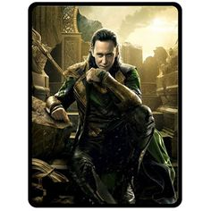 "New Hot Loki Tom Hiddleston Extra Large 60"" X 80"" Fleece Throw Blanket # 7"