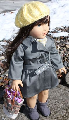 18 Inch Doll Clothing - A Windy Day