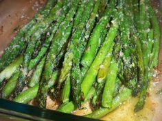 From the Kitchen of Mama Harris: Garlic Parmesan Asparagus