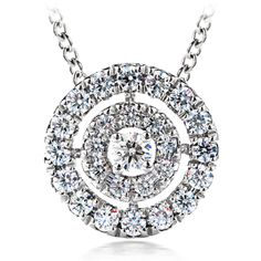 Hearts on Fire Captivation Pendant. IN-STOCK at BECKER JEWELERS!!!    We also have the matching ring and earrings!!!
