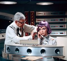 Gabrielle Drake in make up for UFO Sci Fi Shows, Tv Shows, Drakes Album, Sci Fi Tv Series, Julie Newmar, Film Icon, Science Fiction Series, Classic Sci Fi, Warrior Girl