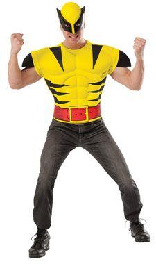 Wolverine Chest Shirt Adult