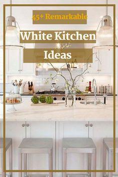 45+ Remarkable White Kitchen Design Ideas #whitekitchendesignideas Kitchen Layout, Kitchen Design, Rustic Kitchen, Kitchen Decor, Design Ideas, Table, Furniture, Home Decor, Kitchen Rustic