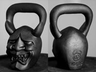 Exercise Your Demons is right. Check these bad boys out.  DemonBells