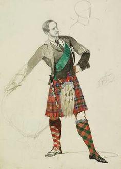 Carl Haag - Prince Albert: study for Evening at Balmoral