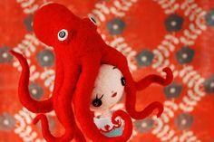 Octopus Girl (work-in-progress) - Hiné [hee-neh] Mizushima