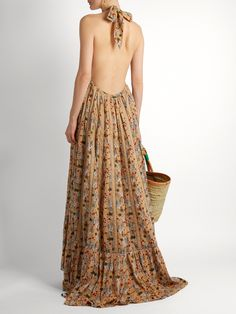 Rooftop Runway floral-print cotton maxi dress | Kalita | MATCHESFASHION.COM UK
